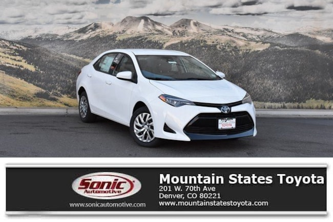New 2019 Toyota Corolla LE Sedan in Denver