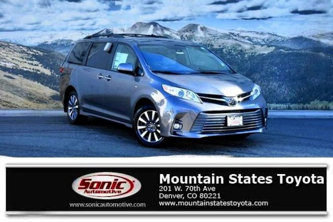 New 2019 Toyota Sienna XLE 7 Passenger Van in Denver