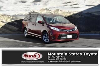 New 2019 Toyota Sienna LE 8 Passenger Van in Denver