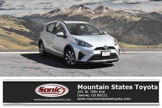 New 2019 Toyota Prius c LE Hatchback in Denver