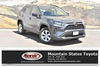 New 2019 Toyota RAV4 LE SUV in Denver