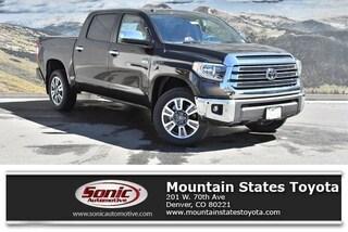 New 2019 Toyota Tundra 1794 5.7L V8 Truck CrewMax in Denver