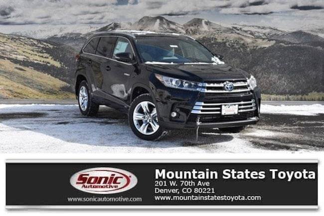 New 2019 Toyota Highlander Hybrid Limited V6 SUV in Denver