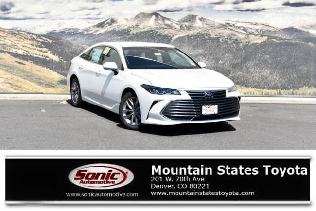 New 2019 Toyota Avalon XLE Sedan in Denver