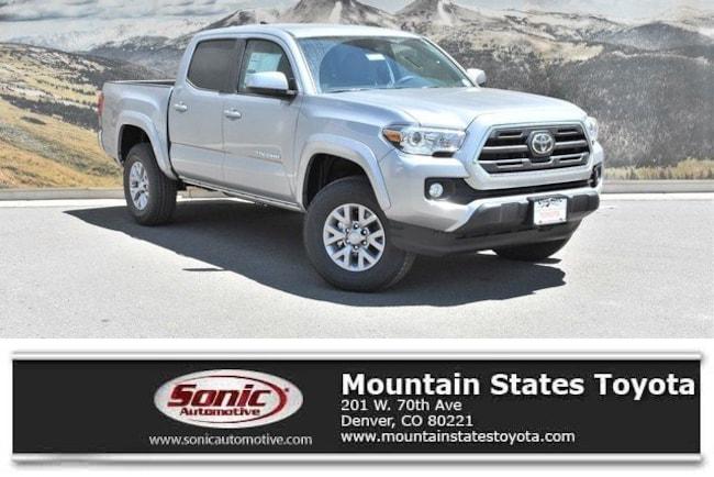 New 2019 Toyota Tacoma SR5 V6 Truck Double Cab in Denver