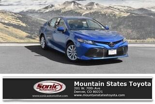 New 2019 Toyota Camry LE Sedan in Denver