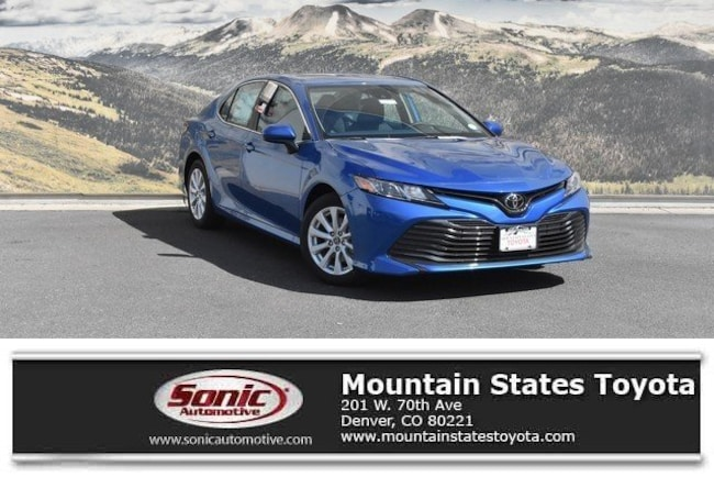 New 2019 Toyota Camry LE Sedan in Denver