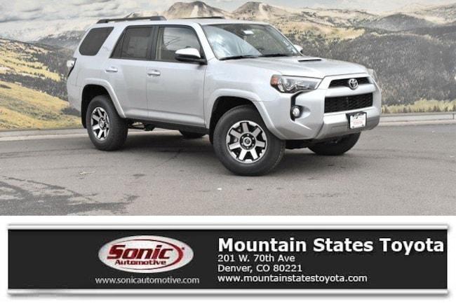 New 2019 Toyota 4Runner TRD Off Road SUV in Denver