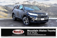 New 2019 Toyota Highlander LE V6 SUV in Denver