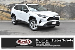 New 2019 Toyota RAV4 Hybrid LE SUV for sale in Denver