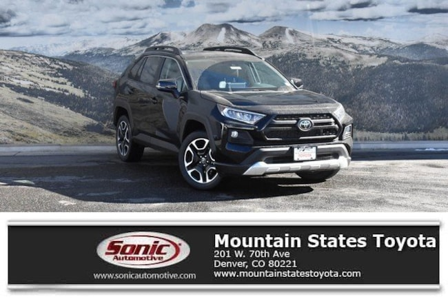 New 2019 Toyota RAV4 Adventure SUV in Denver