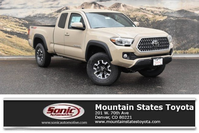 New 2019 Toyota Tacoma TRD Off Road V6 Truck Access Cab in Denver