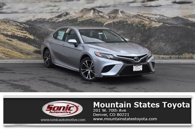 New 2019 Toyota Camry SE Sedan in Denver