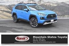 New 2019 Toyota RAV4 Adventure SUV for sale in Denver