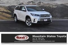 New 2019 Toyota Highlander Limited V6 SUV for sale in Denver