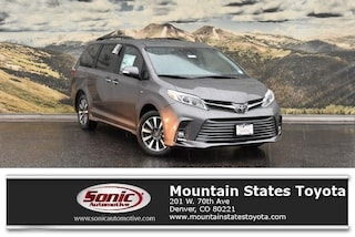 New 2019 Toyota Sienna Limited Premium 7 Passenger Van in Denver