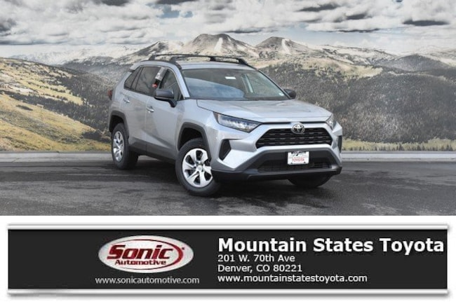 New 2019 Toyota RAV4 LE SUV in Denver