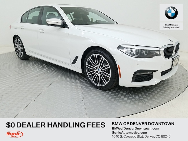 New 2019 BMW 530i xDrive Sedan for sale in Denver, CO