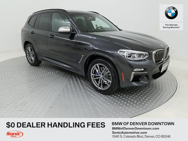New 2019 BMW X3 M40i SAV for sale in Denver, CO
