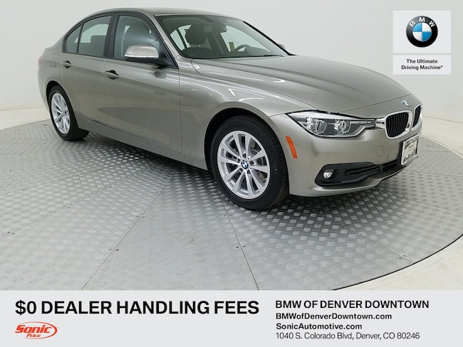 New 2018 BMW 320i xDrive Sedan for sale in Denver, CO