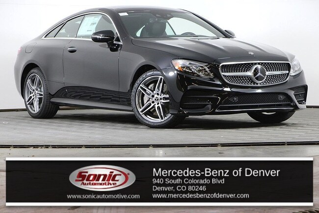 New 2019 Mercedes-Benz E-Class E 450 4MATIC Coupe for sale in Denver, CO