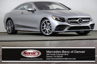 New 2018 Mercedes-Benz S-Class 4MATIC Coupe in Denver