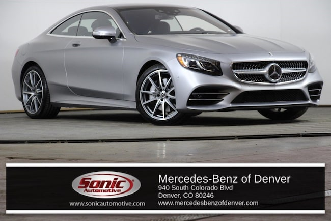 New 2018 Mercedes-Benz S-Class 4MATIC Coupe for sale in Denver, CO