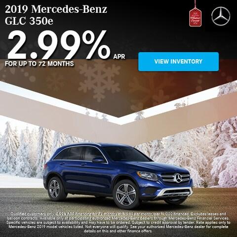 2019 Mercedes-Benz GLC 350e