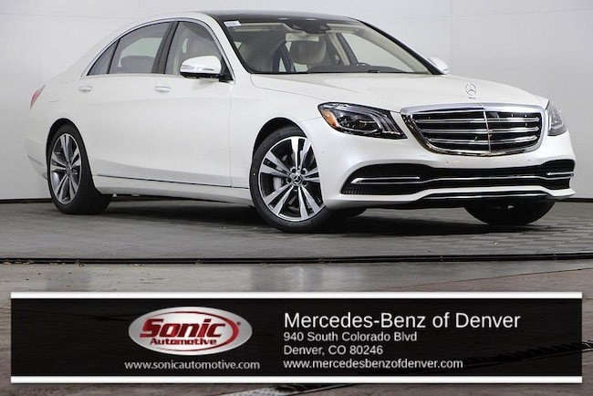 New 2019 Mercedes-Benz S-Class S 450 4MATIC Sedan for sale in Denver, CO