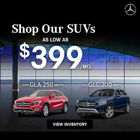 Shop Our SUVs