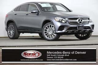 New 2019 Mercedes-Benz GLC 300 4MATIC Coupe in Denver