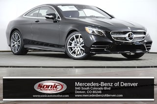 New 2019 Mercedes-Benz S-Class S 560 4MATIC Coupe in Denver