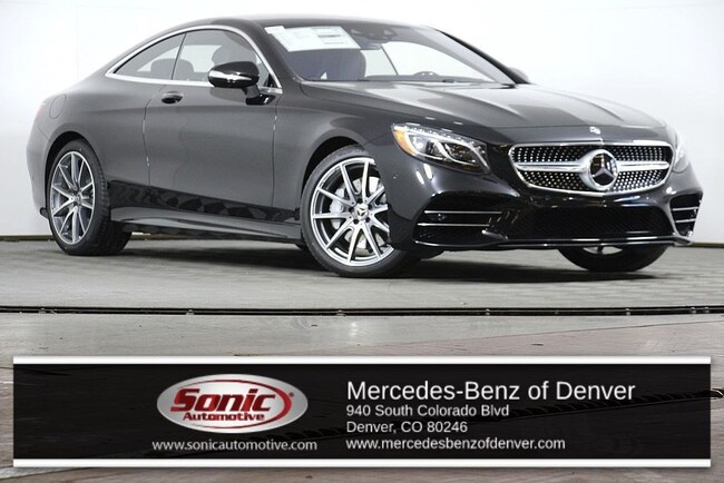 New 2019 Mercedes-Benz S-Class S 560 4MATIC Coupe for sale in Denver, CO