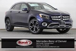 New 2019 Mercedes-Benz GLA 250 4MATIC SUV in Denver