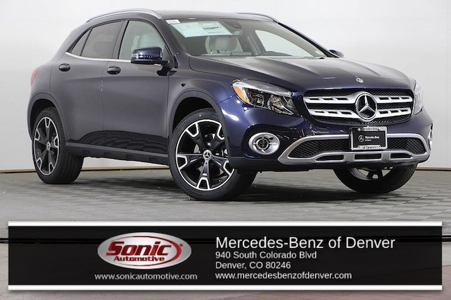 New 2019 Mercedes-Benz GLA 250 4MATIC SUV for sale in Denver, CO