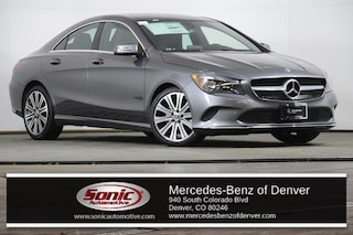 New 2019 Mercedes-Benz CLA 250 4MATIC Coupe in Denver