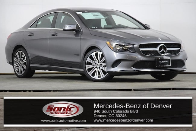 New 2019 Mercedes-Benz CLA 250 4MATIC Coupe for sale in Denver, CO