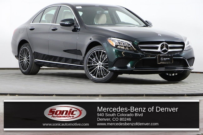 New 2019 Mercedes-Benz C-Class C 300 4MATIC Sedan for sale in Denver, CO
