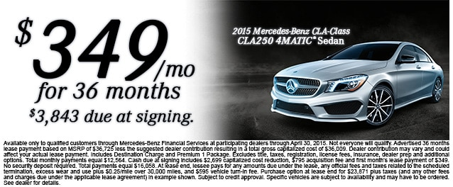 Mercedes Benz Lease >> New Lease Specials Mercedes Benz Of Denver