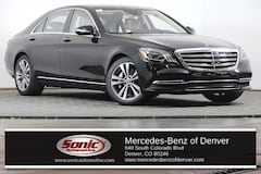 New 2019 Mercedes-Benz S-Class S 560 4MATIC Sedan for sale in Denver