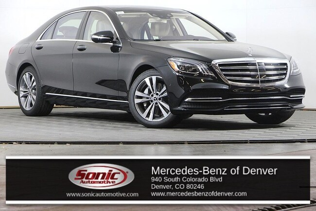 New 2019 Mercedes-Benz S-Class S 560 4MATIC Sedan for sale in Denver, CO