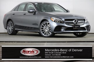 New 2019 Mercedes-Benz C-Class C 300 4MATIC Sedan in Denver