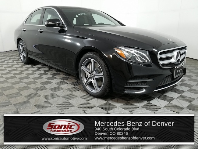 New 2019 Mercedes-Benz E-Class E 300 4MATIC Sedan for sale in Denver, CO