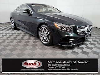 Used 2019 Mercedes-Benz S-Class S 560 4MATIC Coupe for sale in Denver, CO