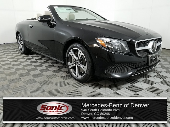 New 2019 Mercedes-Benz E-Class E 450 4MATIC Cabriolet for sale in Denver, CO