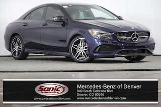 Used 2018 Mercedes-Benz CLA 250 4MATIC Coupe for sale in Denver, CO