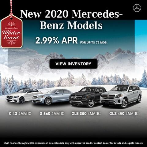 New 2020 Mercedes-Benz Models