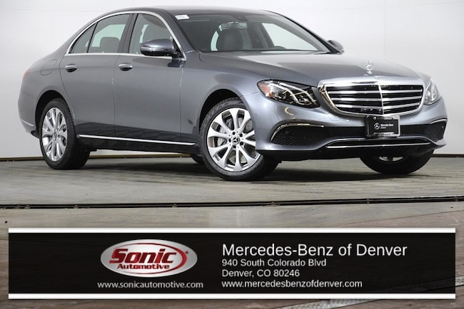 New 2019 Mercedes-Benz E-Class E 450 4MATIC Sedan for sale in Denver, CO