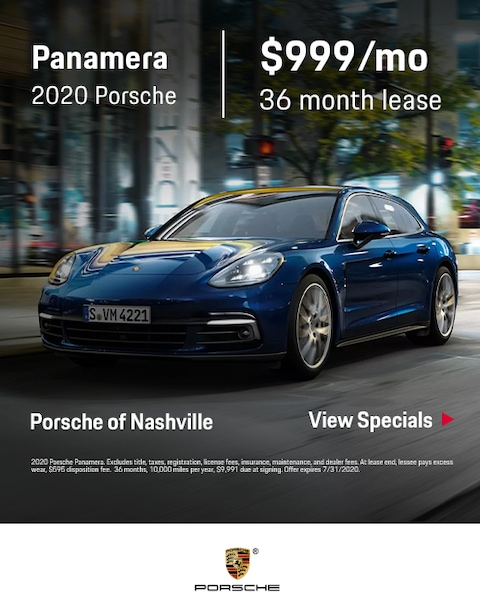 2020 Porsche Panamera Lease Specials