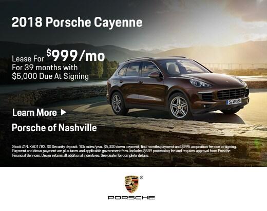 Porsche Of Nashville >> Certified Pre Owned Porsche Specials Porsche Of Nashville